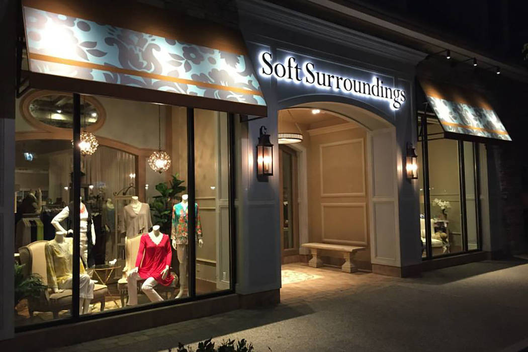 A Soft Surroundings In Peachtree Corners Georgia Is Shown