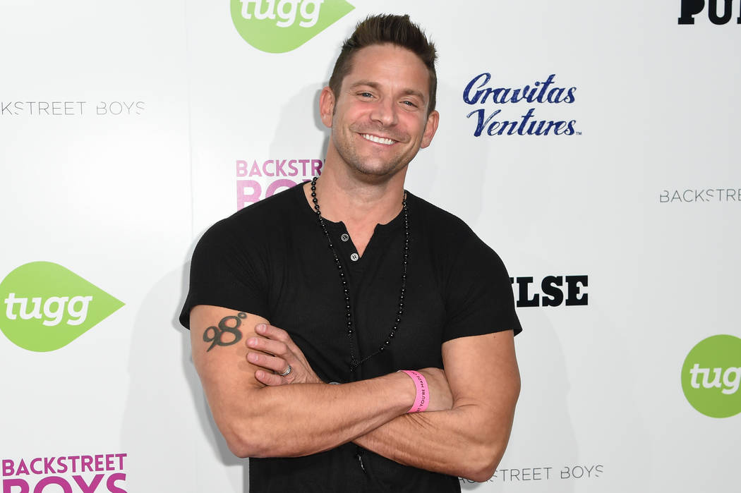 """Jeff Timmons arrives at the """"Backstreet Boys: Show 'Em What You're Made Of"""" premiere at the Arclight Cinemas - Cinerama Dome on Thursday, Jan. 29, 2015, in Los Angeles. ..."""