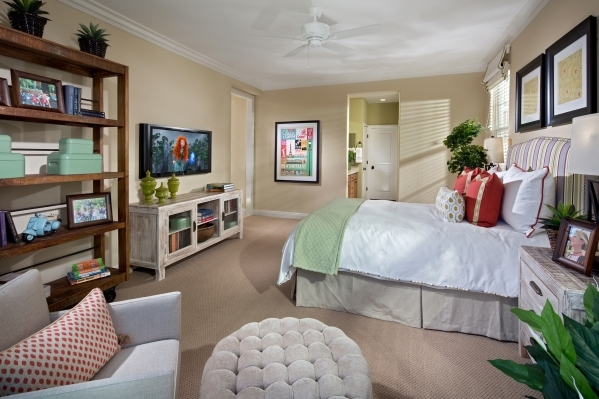 Pardee Homes offers multiple master bedrooms to suit multigenerational families in many Las Vegas new-home neighborhoods. COURTESY PHOTO
