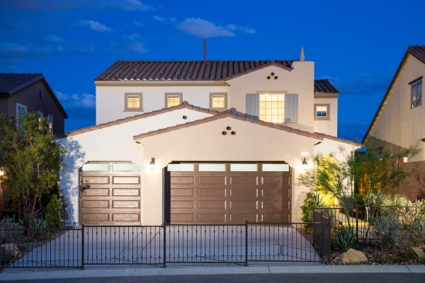 NORTH LAS VEGAS  Pardee Homes offers the North Peak Residence Two plan starting at  $295,990 in its North Las Vegas neighborhood within the Eldorado master-planned community. The home measures 2,4 ...