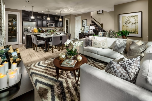 SUMMERLIN  There are no detached new homes on the market for $300,000 or less in Summerlin. Toll Brothers Vista Dulce town home development has two 1,600-square-foot plans priced at $281,995 and $ ...