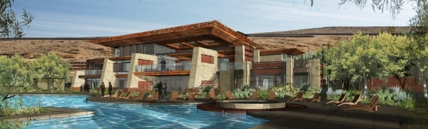 Construction on the $25 million Ascaya clubhouse is expected to start later this year.  COURTESY PHOTO
