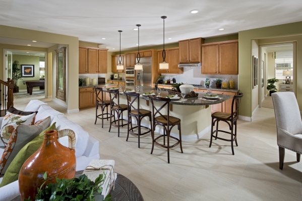 The Residence One at Alterra measures 3,227 square feet with four bedrooms and optional second master suite. PROMOTIONAL PHOTO