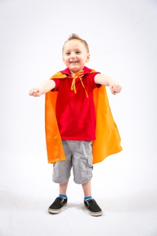 Dace Ash Davis, 5, is a Superhero Ambassador. He will honored at the 25th anniversary Superhero 5K with Chet Buchanan on Sept. 12 at Mountain's Edge benefitting Candlelighters and kids with  ...