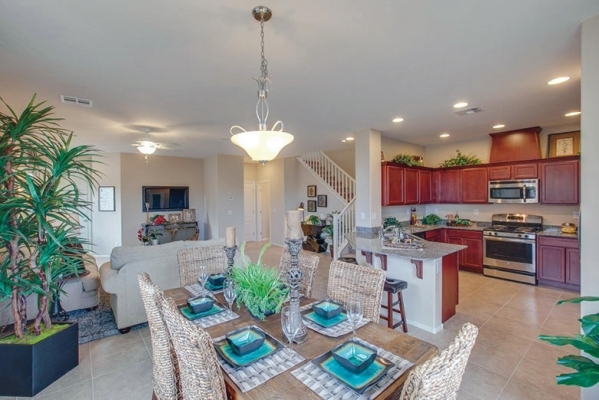 The Hazelwood community by Summit Homes has its grand opening today at Silverado Ranch.  PROMOTIONAL PHOTO