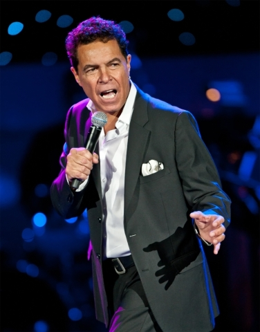Singer Clint Holmes  PROMOTIONAL PHOTO