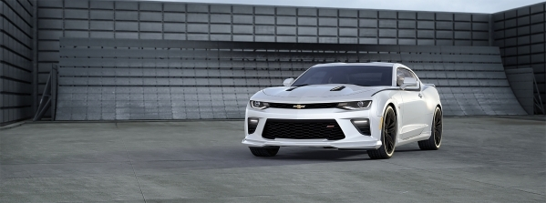 The new Camaro will sport a V-6 with 320 horsepower, and well as a V-8 with well over 400 horses. COURTESY