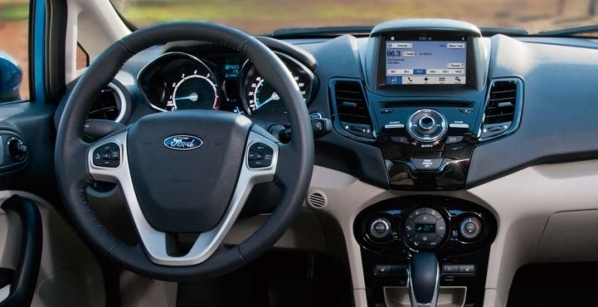 Ford's voice-activated SYNC technology helps drivers keep their eyes on the road and their hands on the wheel. COURTESY