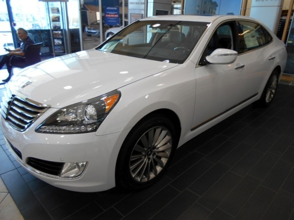 The luxurious 2016 Hyundai Equus Ultimate is featured in the showroom of Planet Hyundai Sahara at 7150 W. Sahara Ave. COURTESY