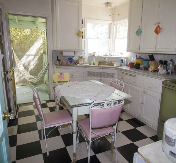 The kitchen in Welthy Silva's early-1940s Huntridge cottage. Susan Bouet/RJRealEstate.Vegas