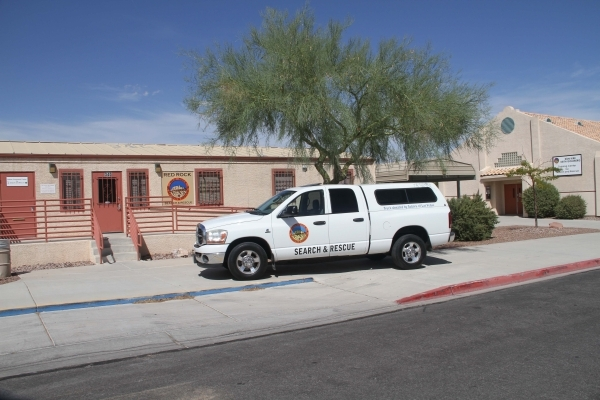 This  2005 Dodge pickup donated to Red Rock Search and Rescue by Subaru of Las Vegas was used recently during a search in Utah. COURTESY