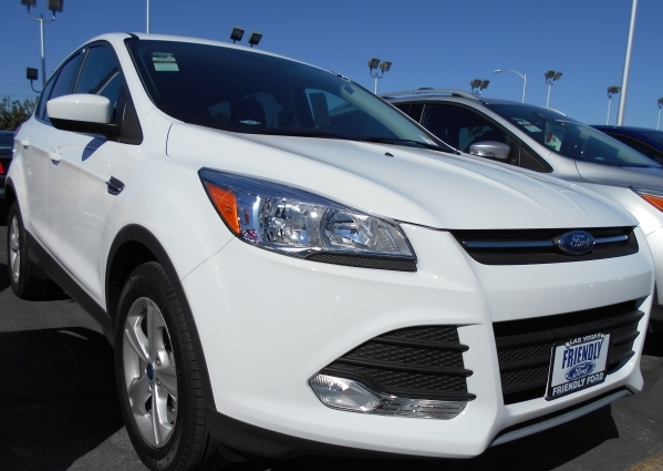 The 2016 Escape sport utility vehicle at Friendly Ford has an impressive combination of engines with excellent gas mileage along with new technology related to communications. COURTESY