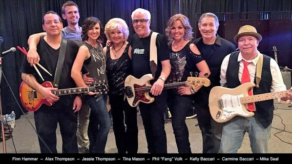 Members of Fang and the Gang, including former Paul Revere and the Raiders bassist and songwriter Phil Volk. COURTESY
