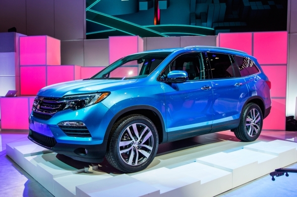 The Honda Pilot's syling received a complete makeover for 2016. COURTESY PHOTO