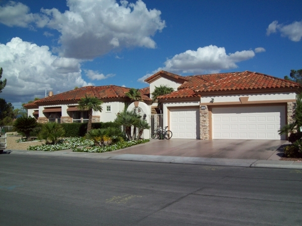 Tile roofs are both a functional and aesthetic style of architecture in Southern Nevada because the tiles are resistant to fire and the heat of the sun, allowing air circulation below to the rooft ...