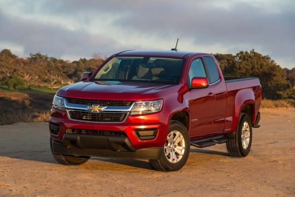 The standard engine in a 2016 Chevy Colorado Crew Cab is a 2.5-liter four-cylinder that's rated at up to 27 mpg on the highway. COURTESY