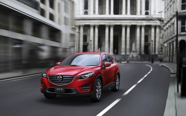 The 2016 Mazda CX-5 gets 29 mpg combined (26 city/35 highway). COURTESY