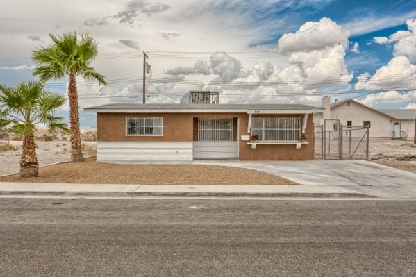 The 1964 house at 808 Duquesne Ave. in North Las Vegas is listed for $87,700. It's one of nearly 130 single-family homes listed on the Multiple Listing Service for $100,000 or less. COURTESY