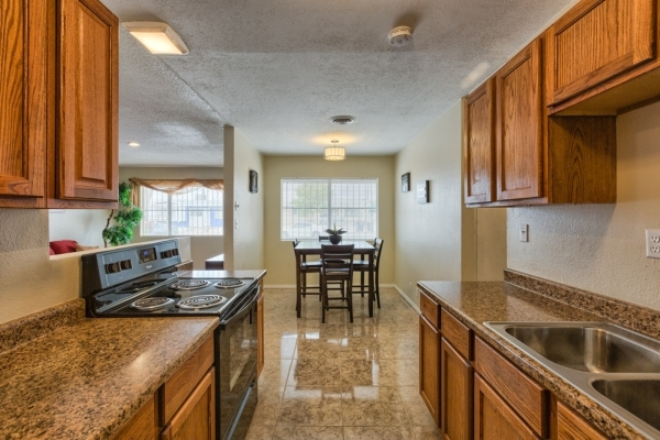 The house at 808 Duquesne Ave. in North Las Vegas was purchased when the market was down and totally remodeled with new flooring, new appliances, new bathroom and countertops. COURTESY
