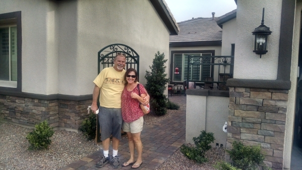 Jim and Lori Brown purchased a semicustom home by Liberty Home. PROMOTIONAL