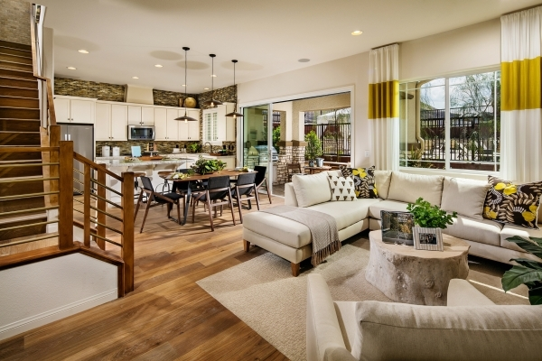 Summerlin's final three neighborhoods in The Mesa village are selling with 22 different floor plans by three homebuilders. The luxury townhome neighborhood Vista Dulce by Toll Brothers offer ...