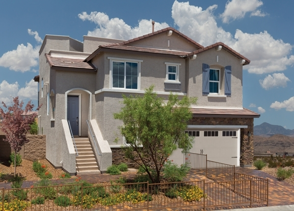 The Pierce Model by Ryland Homes is offered in several Las Vegas neighborhoods.   PROMOTIONAL