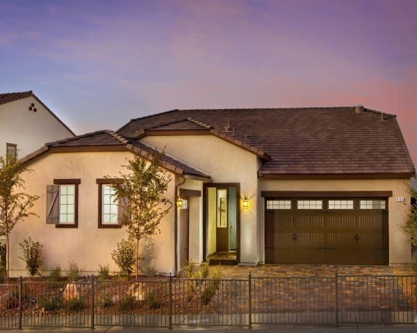 Pardee Homes' Horizon Terrace South Residence Four, shown as the model home, features an upstairs loft that can be built as an optional guest suite with a full bath or optional bedroom and o ...