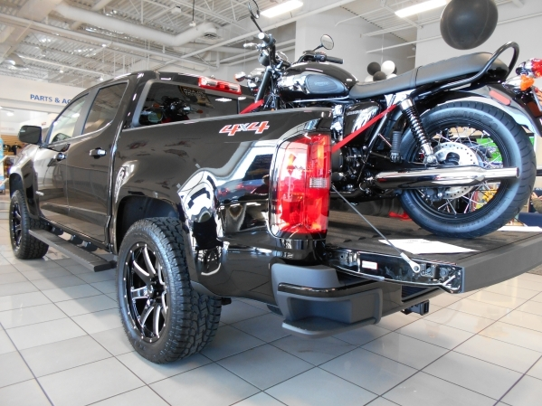 The 2016 Chevrolet Colorado has been selling well since arriving at Findlay Chevrolet in September. COURTESY