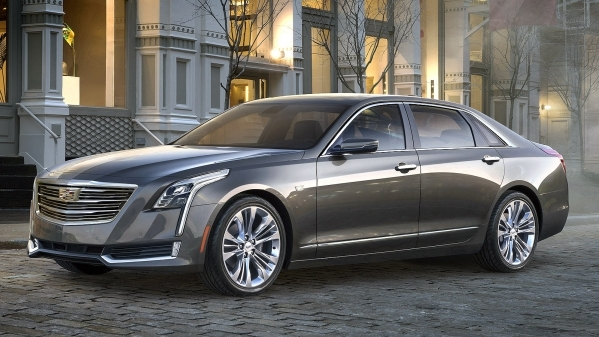 The 2016 Cadillac CT6 elevates to the top of the Cadillac range, and creates a new formula for the prestige sedan through the integration of new technologies developed to achieve dynamic performan ...