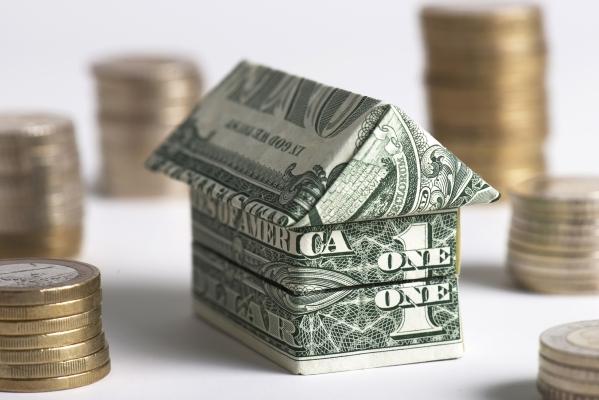 Model Home Of Dollar Bills