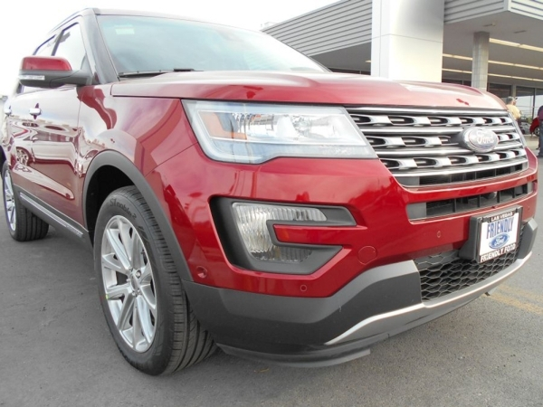 The 2016 Ford Explorer SUV at Friendly Ford is hailed as multifaceted and worthy of every possible challenge. COURTESY
