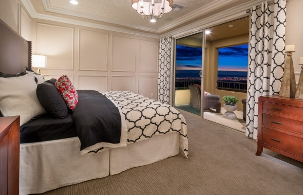 PulteGroup features an owner's suite in one of its Las Vegas floor lans. COURTESY