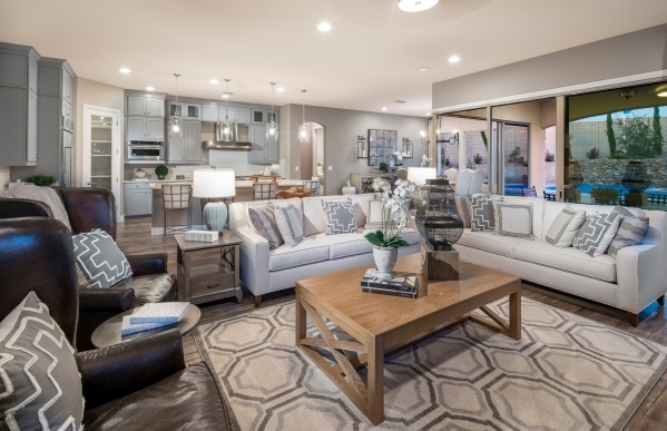 Andy Lee, director of sales for PulteGroup's Las Vegas division, said his company offers structural options to create larger spaces. COURTESY