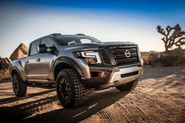 Just as the all-new TITAN XD with its Cummins® 5.0L V8 Turbo Diesel engine has bulked up the standards for customers shopping the light-duty pickup class, the TITAN Warrior Concept was crea ...