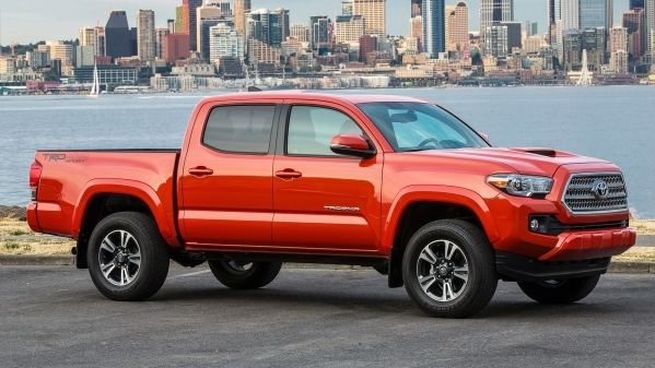 The Toyota Tacoma is built to handle the demands of a hard-charging weekend. COURTESY