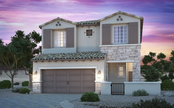 The Tuscan home model is featured  in Century Communities' Whisper Peaks neighborhood.. PROMOTIONAL