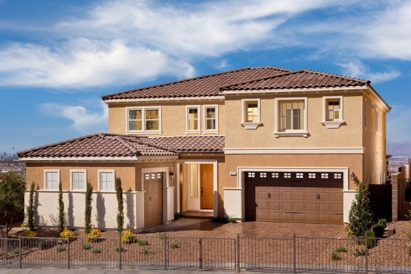 Pardee Homes offers four Henderson neighborhoods, including Horizon Terrace South near Horizon Ridge Parkway and Gibson Road. Pictured is the Residence Three model at Horizon Terrace South. PROMOT ...