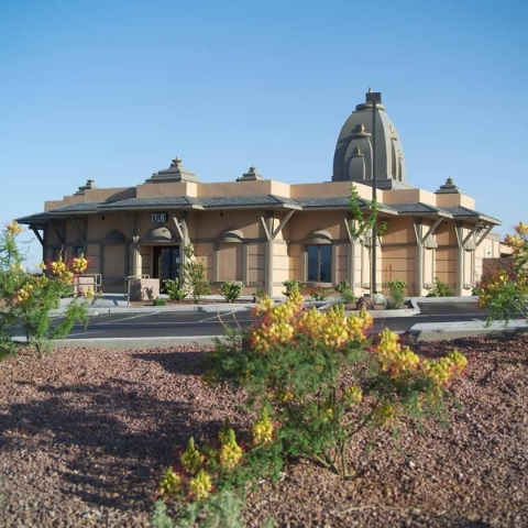 Hindu Temple of Las Vegas in  Summerlin. COURTESY