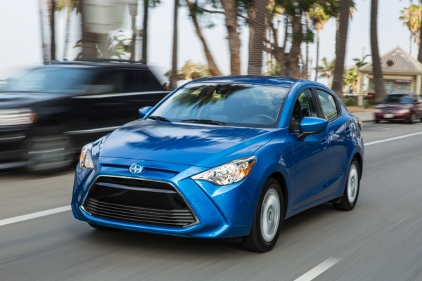 The smart and stylish 2016 Scion iA impresses buyers with features such as the remote keyless entry and backup camera. COURTESY