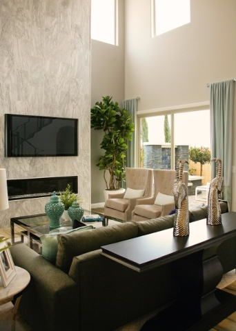 Century Communities opened new-home models in Skye Canyon, a new Las Vegas master-planned community. ELKE COTE/RJNEWHOMES.VEGAS