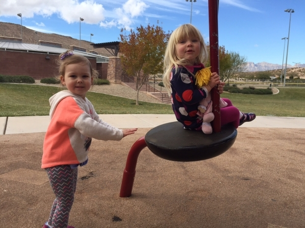 A park in every neighborhood is just one of the many design requirements in Summerlin that allows adults and children, like Cora J. and Sydney L., to enjoy an active, outdoor #SummerlinLife. PROMO ...