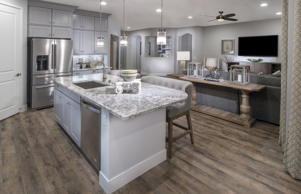 Pulte Homes is building Skyline Estates in Henderson. COURTESY