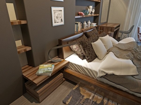 Bedroom avant-garde style THINKSTOCK