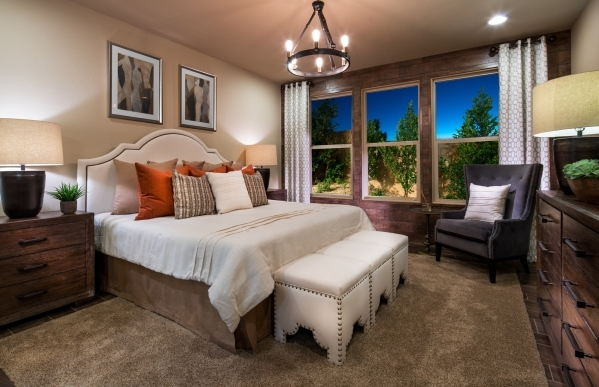 Aaron Alred, general sales manager for Pulte Homes, said to expect more downstairs master suites in Las Vegas homes. COURTESY