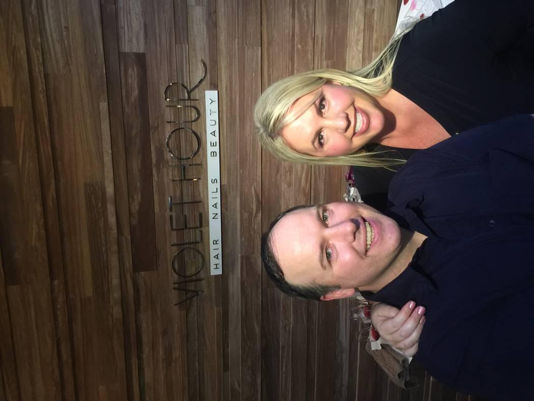 Glycelene founders Eric Chillseyzn and Kim Borio (Las Vegas Review-Journal)