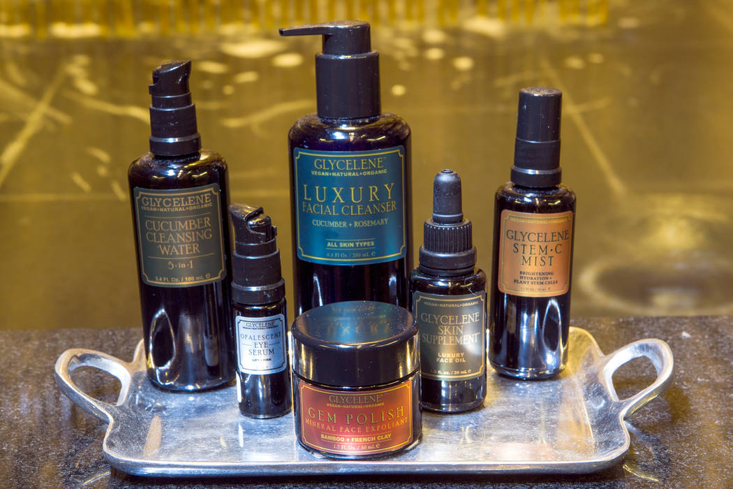 Sahra Spa at Cosmopolitan of Las Vegas has partnered with an all-vegan skin care line called Glycelene.  Products include cleansers, exfoliants, moisturizers and balms to used for hamman massage t ...