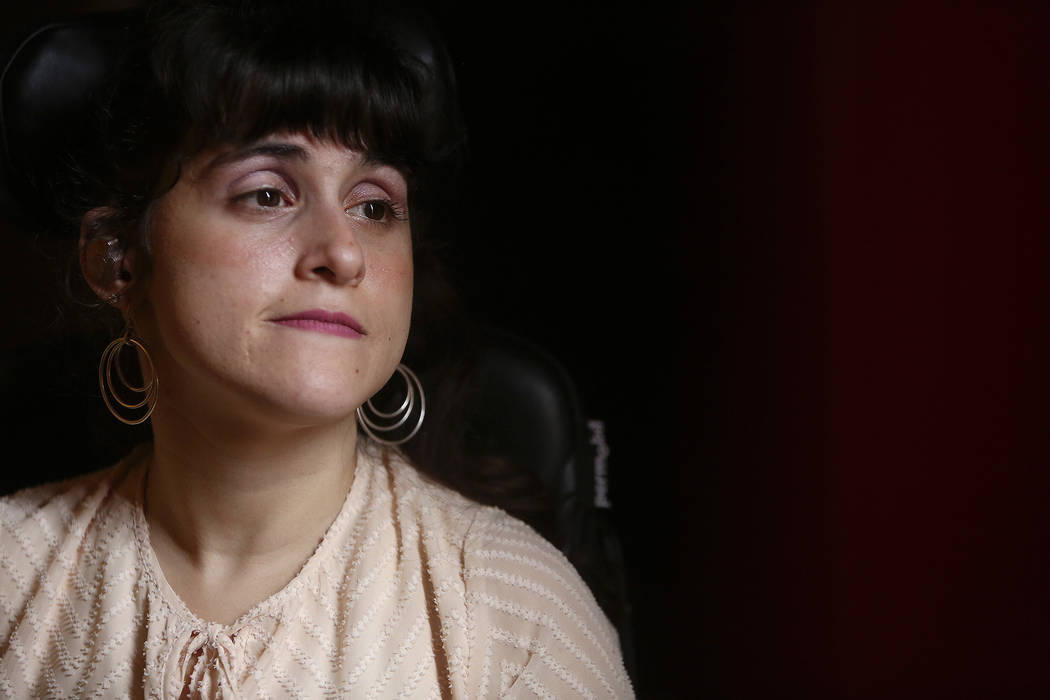 Sharona Dagani at her home in San Antonio, Texas on Sunday, March 12, 2017. The 29-year-old Dagani, born with cerebral palsy, is one of hundreds of former clients whose funds authorities say were  ...