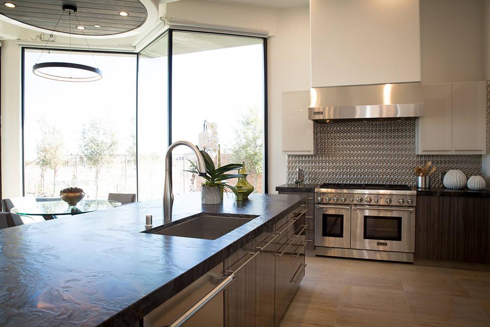 TONYA HARVEY/REAL ESTATE MILLIONS  The kitchen.