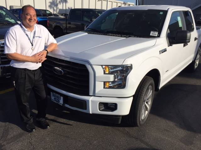 COURTESY Former Friendly Ford technician Tod Donner knows Ford trucks inside and out and is now capitalizing as a member of the dealership's sales force.