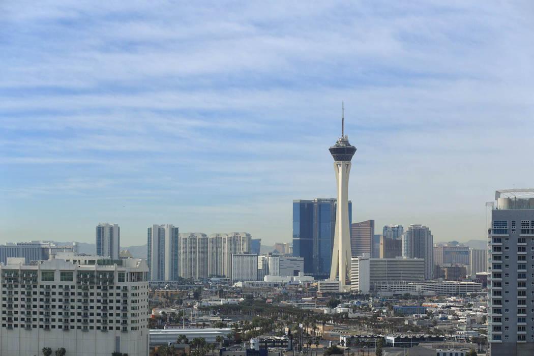 TheLas Vegas Strip on Friday, March 10, 2017. (Brett Le Blanc/Las Vegas Review-Journal) @bleblancphoto